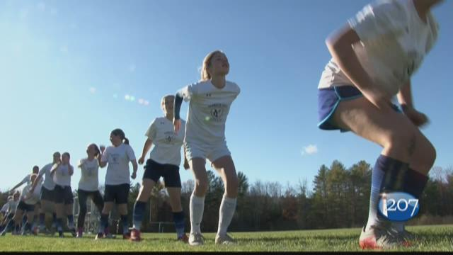 The UNE physical therapy program is working to prevent ACL injuries in sports by studying the movement of players with the Yarmouth Colts Soccer Club.