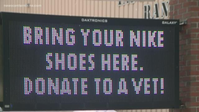 Maine gun store asks people to not burn their Nikes