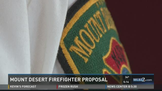 Mount Desert Fire Department proposing to hire two full time firefighters