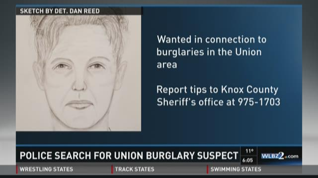 Authorities searching for suspect from Union burglary