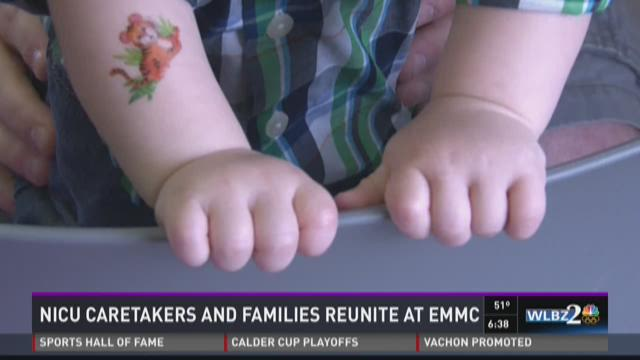 NICU babies return for special day of reunions