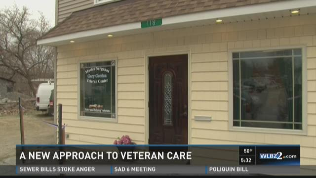 A new approach to veteran care (WLBZ)