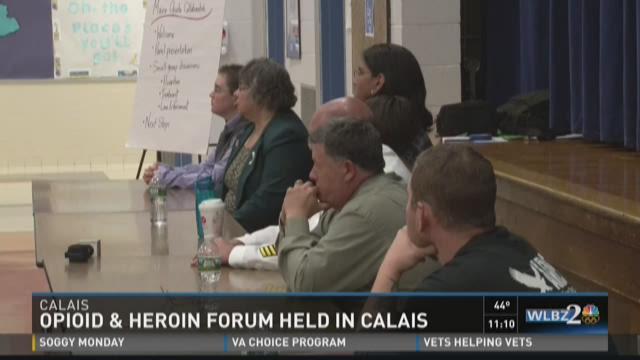 Opioid & Heroin Forum held in Calais