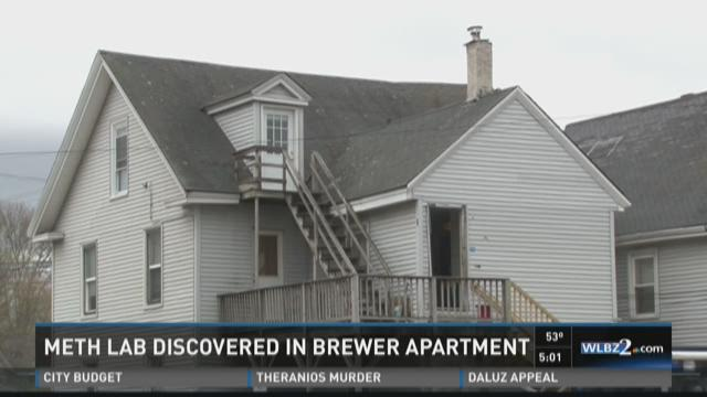 Meth lab discovered in Brewer apartment