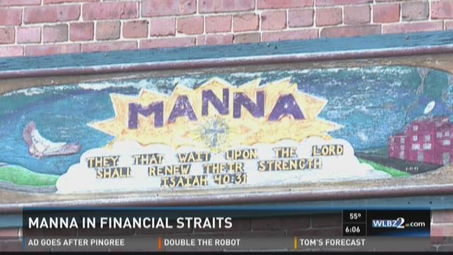 Manna in financial straits