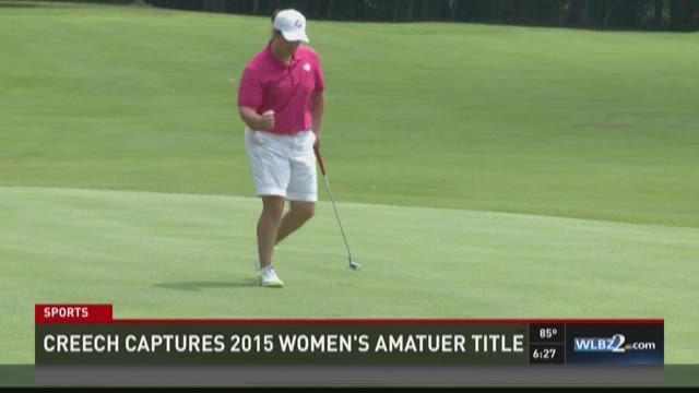 Creech wins 2015 Women's Am